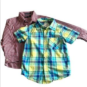 2 sets of Boys Longsleeve size 4 and 6